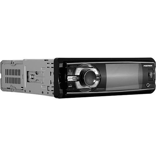"""DVD Player Automotivo Positron com Controle Remoto Tela 3"""""""