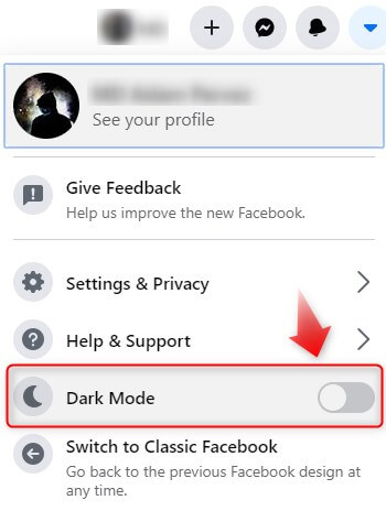facebook-dark-mode