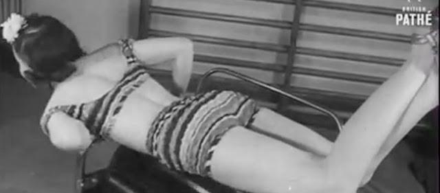 Τα Περίεργα Μηχανήματα Που Χρησιμοποιούσαν Οι Γυναίκες Το 1940 Για Να Γυμναστούν! [Βίντεο]