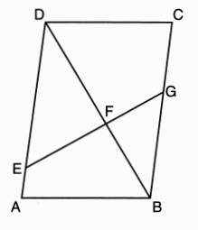 X why june 2016 geometry regents common core parts 3 and 4 given parallelogram abcd efg and diagonal dfb ccuart Image collections