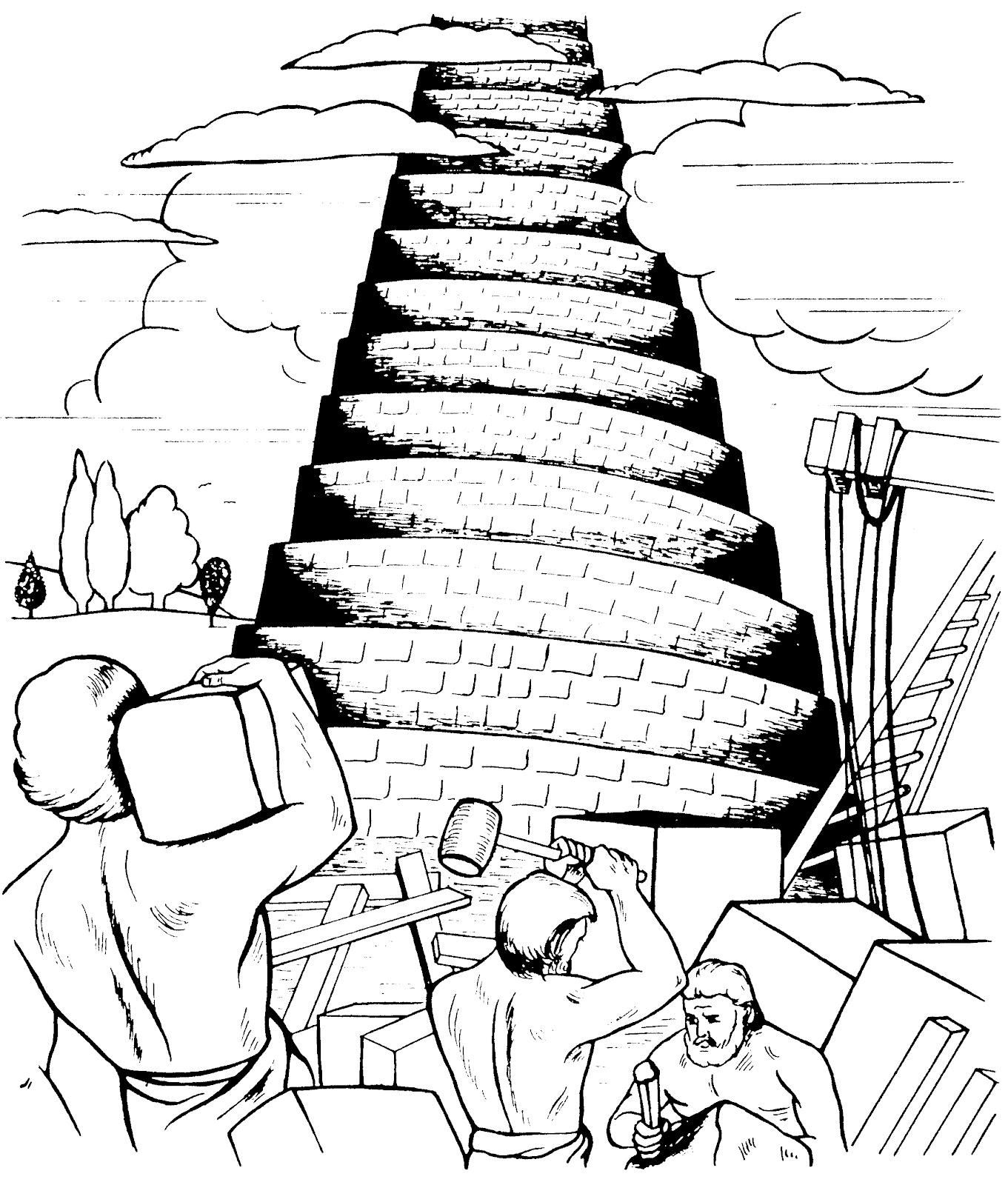 Paroquia Sao Lucas Londrina Torre De Babel E Interrompida Pela