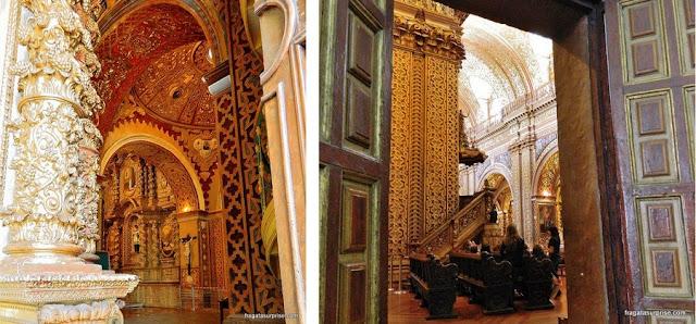 Interior da Igreja de La Compañia, Quito