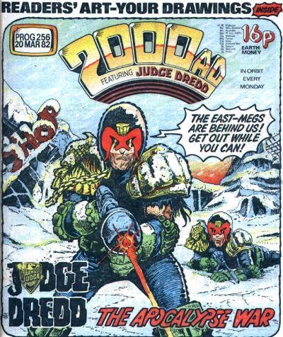 2000 AD Prog 256, Judge Dredd