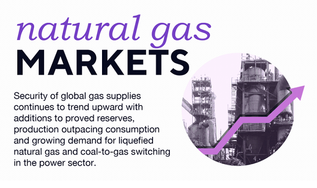 Consumption of natural gas and its effect on the market