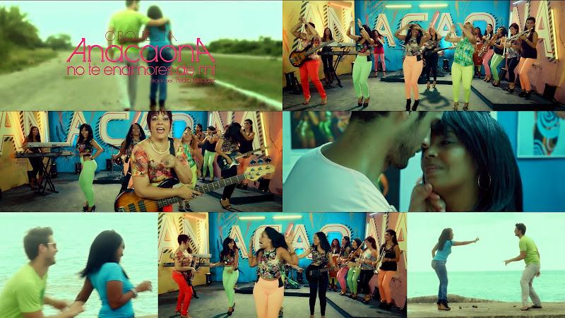 Orquesta Anacaona - ¨No te enamores de mi¨ - Videoclip - Director: Pedro Vázquez. Portal Del Vídeo Clip Cubano