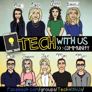 Join our Ed Tech (Tech with Us) FB community to learn, grow and collaborate with educators around the world!