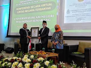 Rekor Muri UIN Walisongo Virtual International Conference 2020