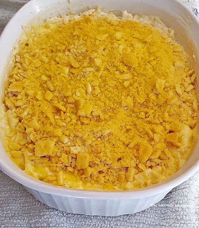 this is a casserole made with hash browns