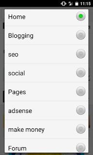 blogger ব্লগের জন্য Category Widget Menu কিভাবে তৈরি বা যুক্ত করবেন