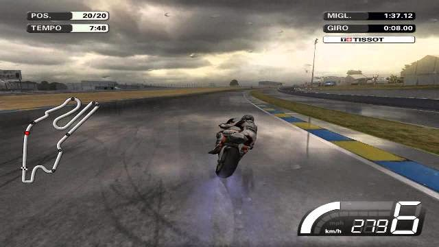 MotoGP 07 PC Games Gameplay