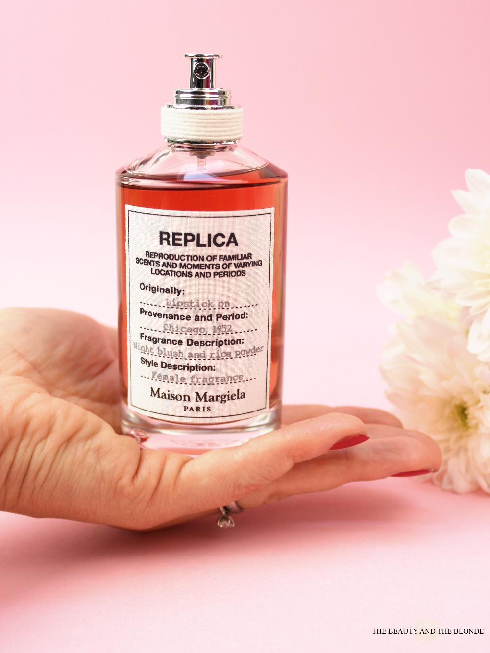 Maison Margiela Replica Lipstick On Parfum Duft Fragrance Review
