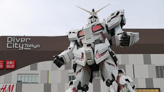 Gundam 1:1 scale gundam base tokyo