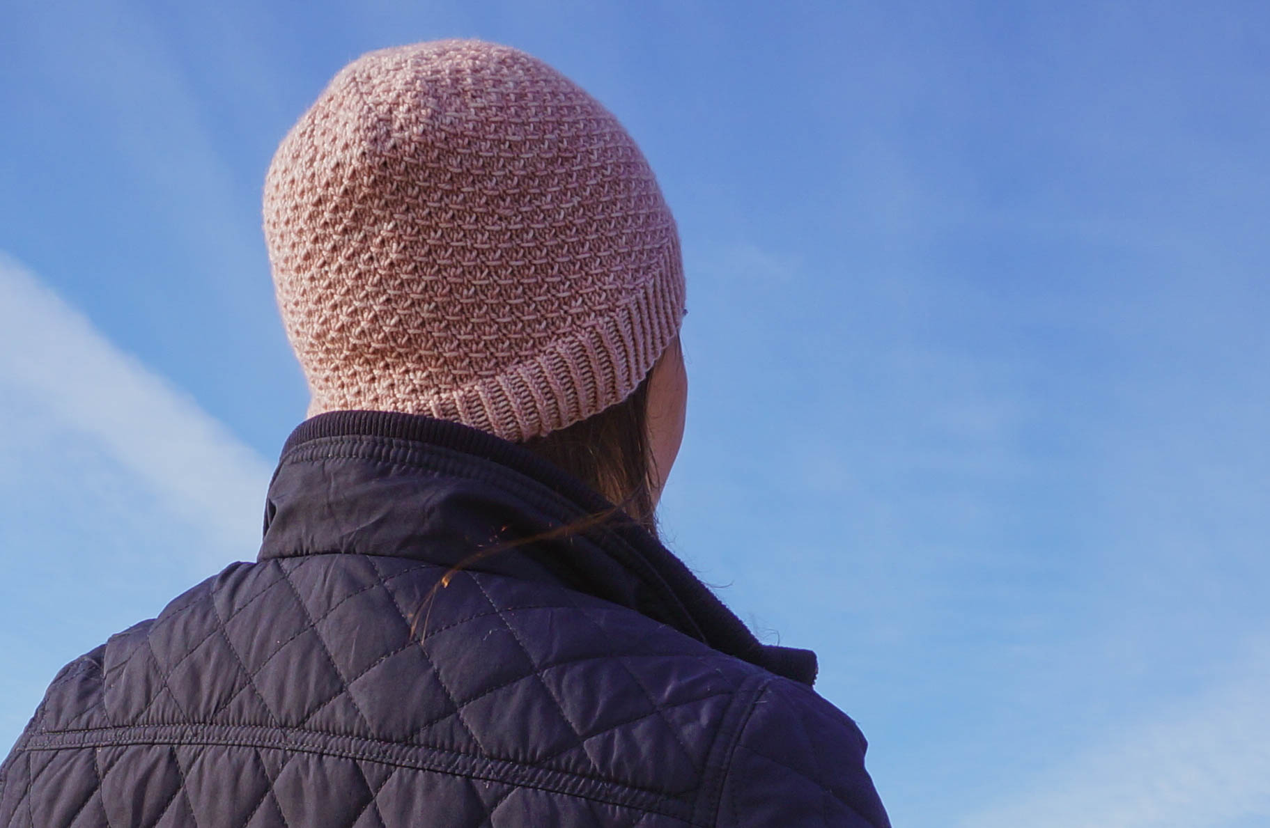 Sandy Point Hat knitting pattern by West Beach Knits