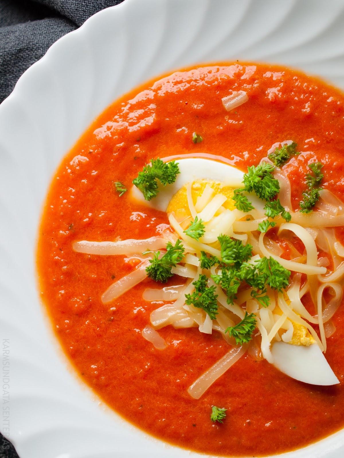 Deilig enkel tomatsuppe