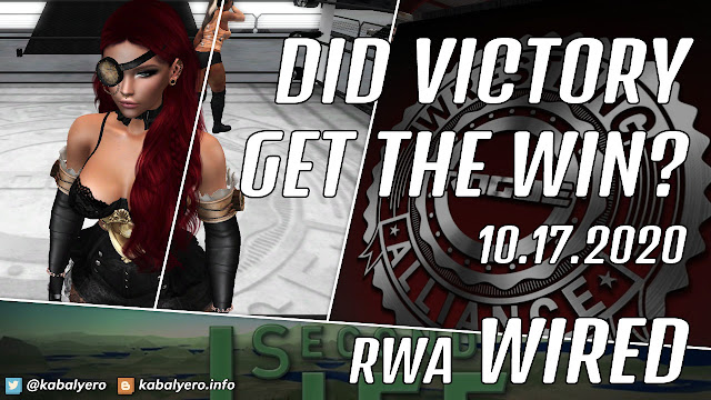 Victory vs Allira Kytori • RWA WIRED (10.17.2020) Second Life Wrestling