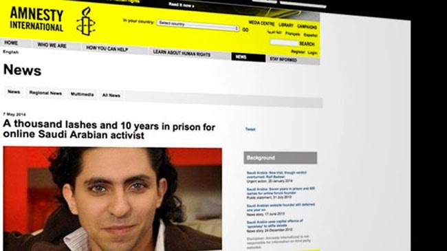 Because of Blogging, Raif Badawi Sentenced of 10 Years Imprisonment and 1000 Lashes
