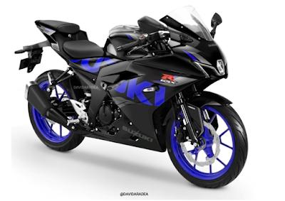 Body New GSX-R150 Facelift Terbaru 2022