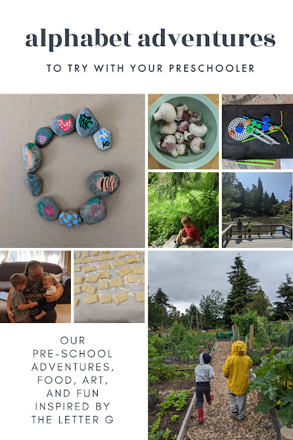 Alphabet Adventures- A Month of Activities, Adventures, and Green Things Inspired by the Letter G