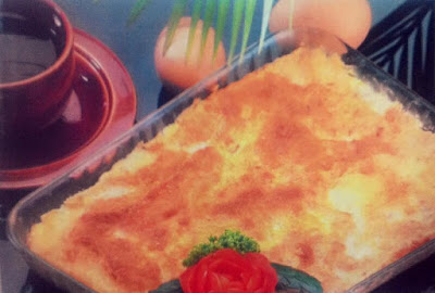 Resep Makanan Schotel Roti Isi Telur