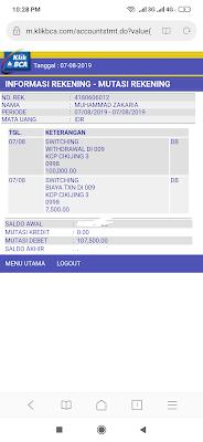 Biaya Penarikan BANK BCA dari ATM BNI Atau ATM Bersama