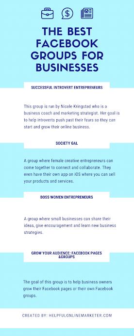 The Best Facebook groups for Entrepreneurs