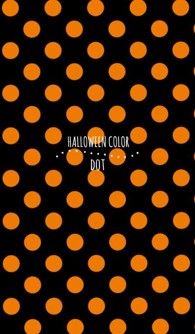 HALLOWEEN COLOR Dot Ver.