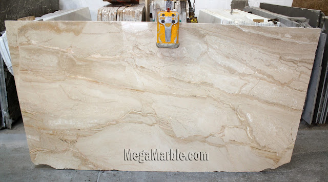 Dean Reale marble slabs for countertops