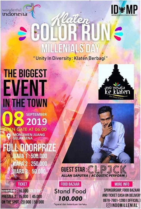 Klaten Millenials Day Color Run • 2019
