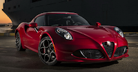 2018 4C Coupe Alfa Romeo - DNA System With Race Mode