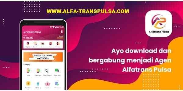 Alfatrans Pulsa CV. Alfa Trans Multipayment