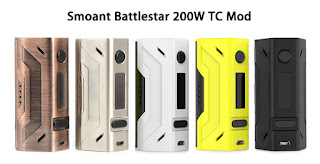 Review Smoant Battlestar 200W TC MOD [Kelebihan Kekurangan]