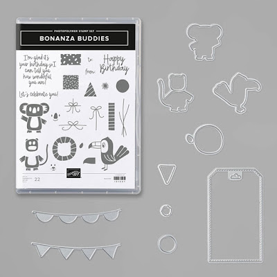 Stampin Up Bonanza Buddies Bunter Spass andi-amo
