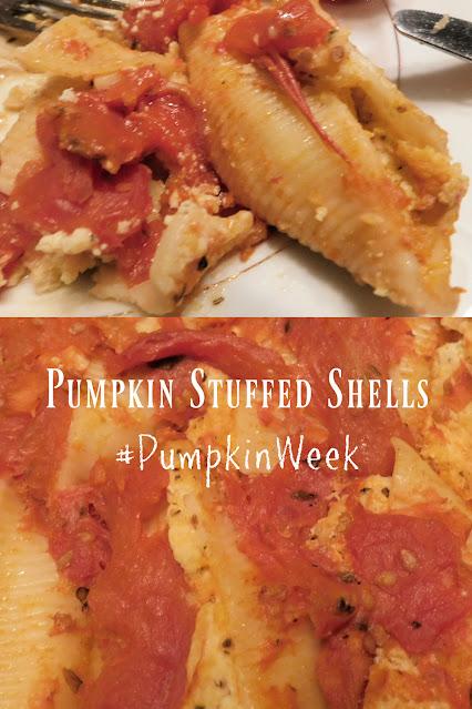 Pumpkin Stuffed Shells pin