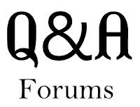Q&A Forums
