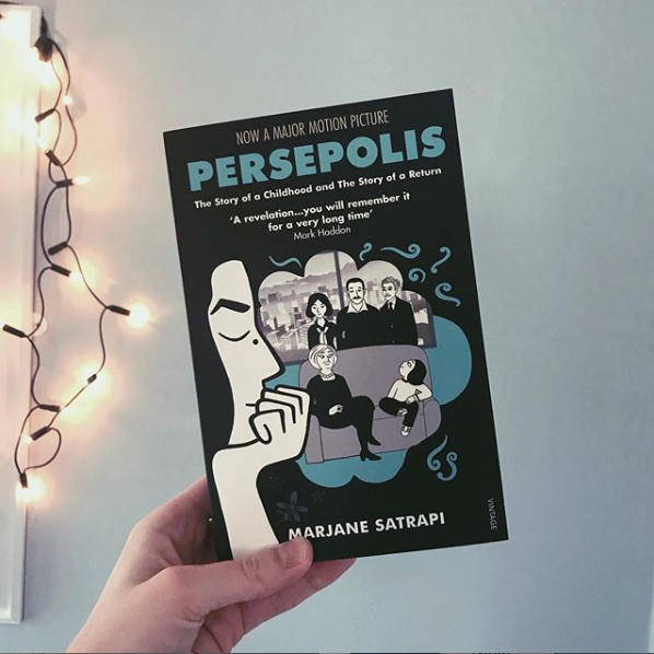 Bookfangirling Review Persepolis By Marjane Satrapi