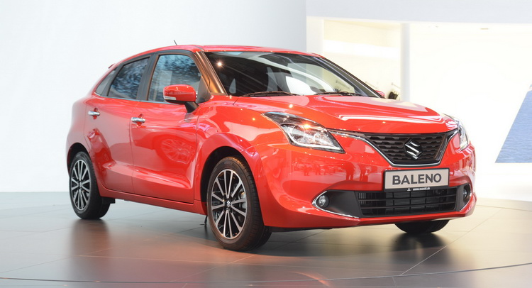 suzuki to bring new 2017 baleno at geneva motor show. Black Bedroom Furniture Sets. Home Design Ideas