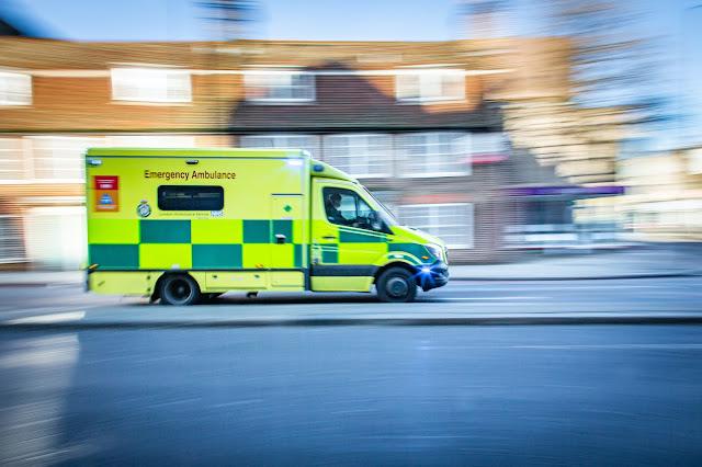 ambulance:Photo by Ian Taylor on Unsplash
