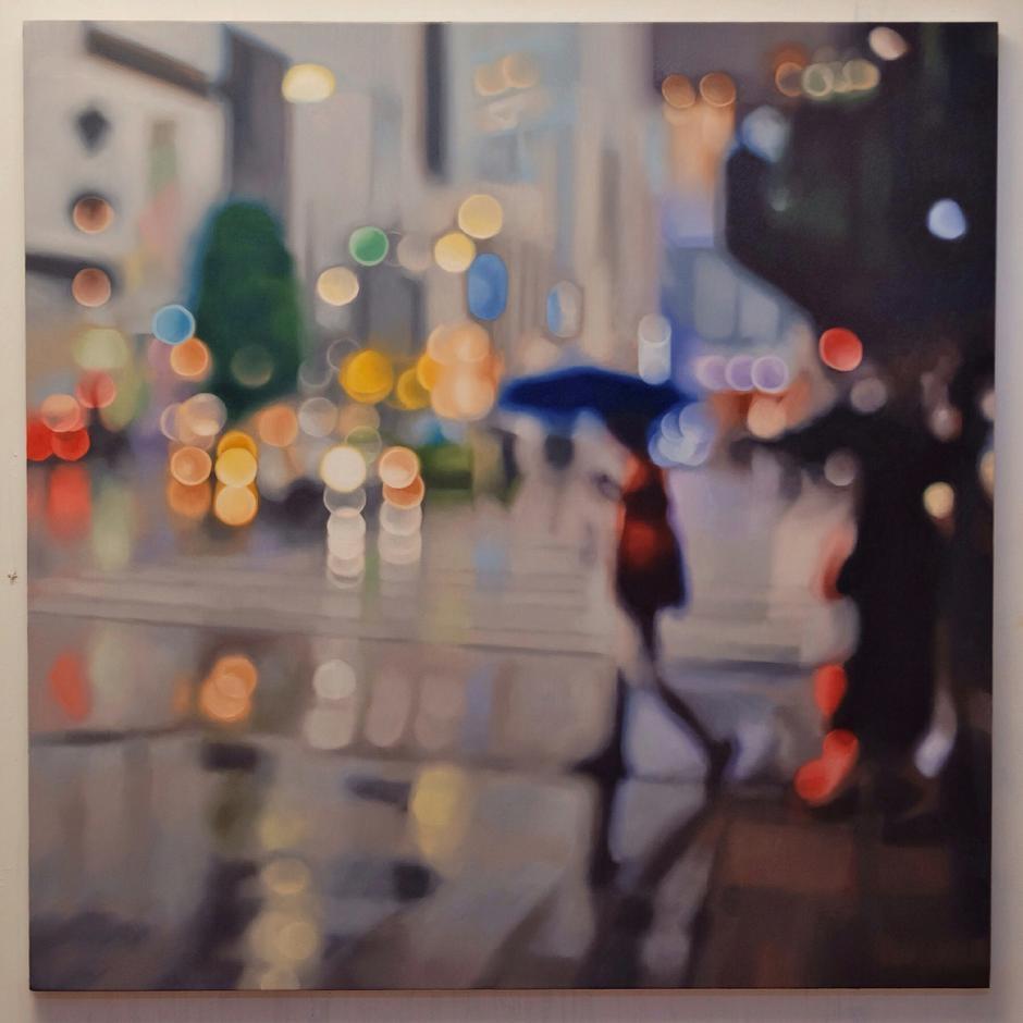 11-Jingumae-Return-in-Studio-Philip-Barlow-No-Need-to-adjust-your-Screen-Paintings-out-of-Focus-www-designstack-co