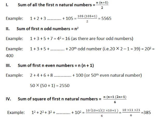 Number System Rules And Examples Bank Exams Today