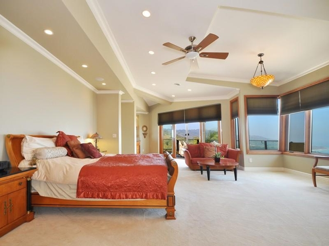 Photo of large master bedroom