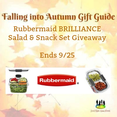 Rubbermaid Brilliance Salad and Snack Set Giveaway
