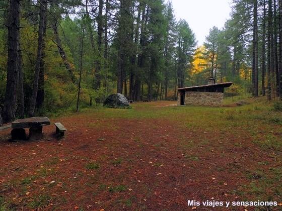 Área Recreatica la Casa de la Pradera, Monumento Natural de la Hoz de Beteta, Cuenca