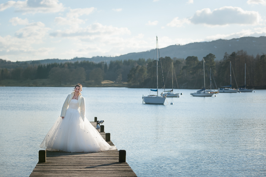 Wedding Windermere Jetty