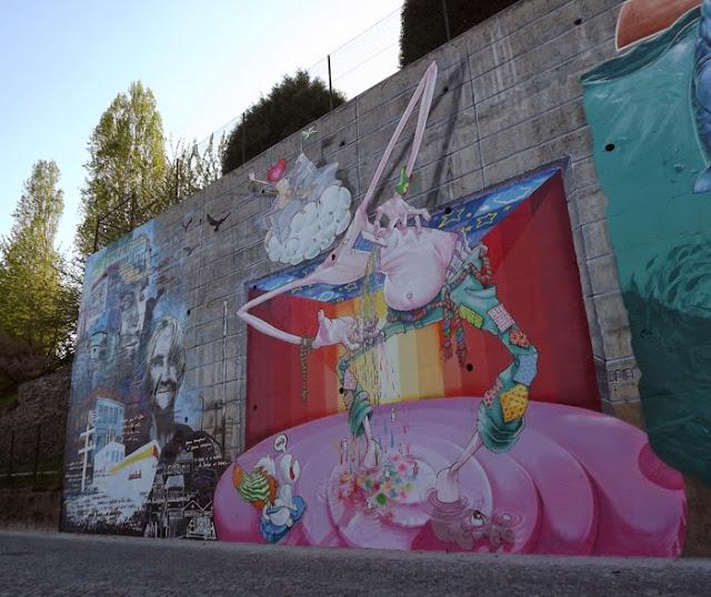 Mural de arte urbana