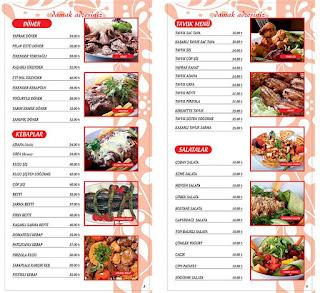 saraykale sac tava zeytinburnu istanbul menu fiyat
