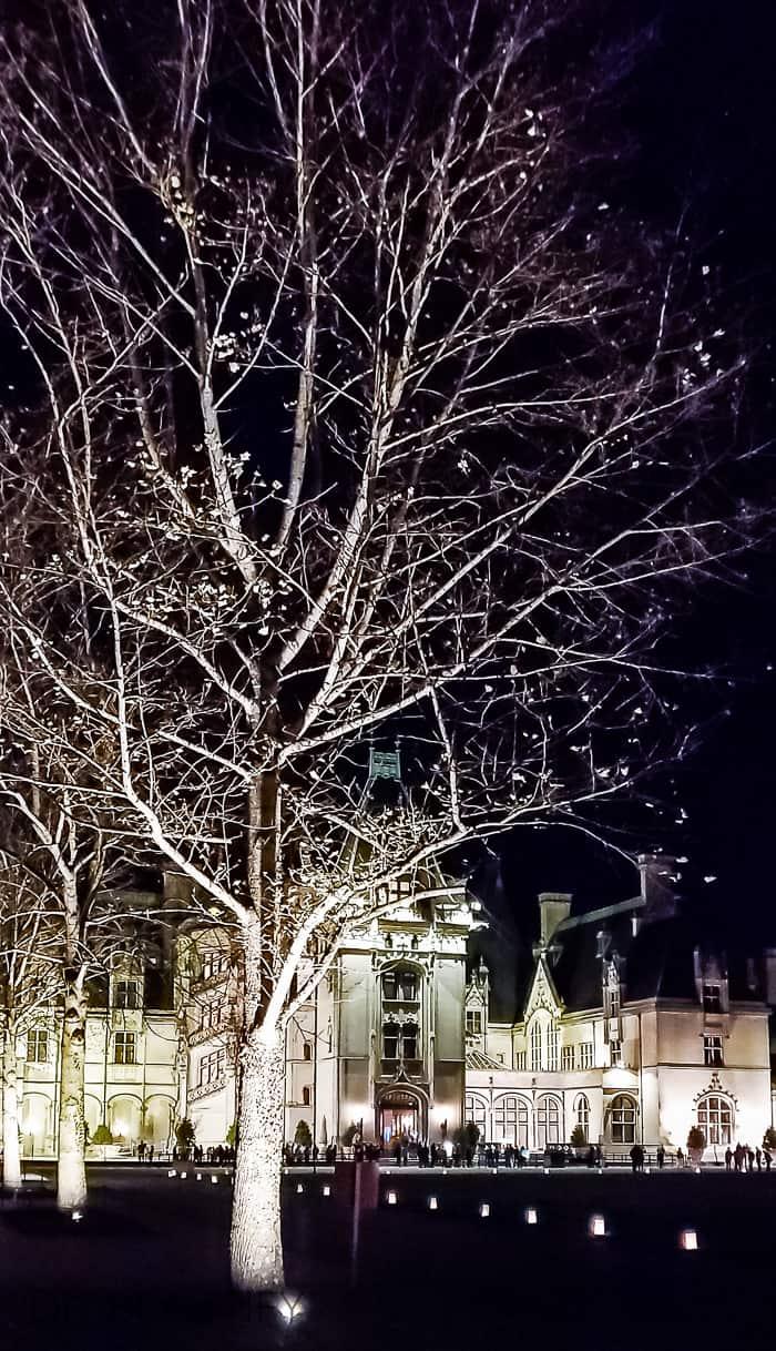 Biltmore at night