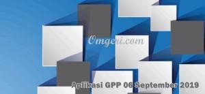 Aplikasi Gaji GPP 6 September 2019