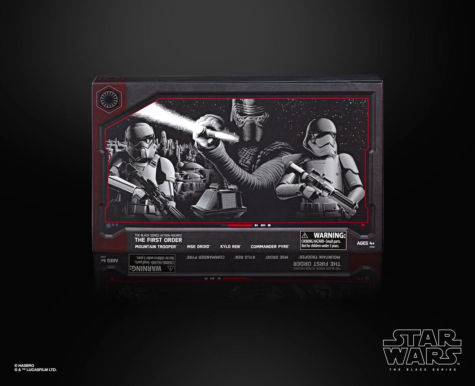 STAR WARS THE BLACK SERIES 6-INCH THE FIRST ORDER 4-PACK