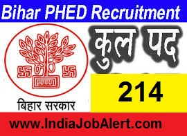 Bihar Public Health  Department JE Recruitment Online Form 2019