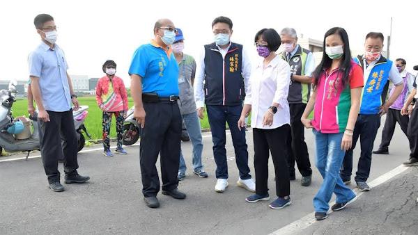 彰化縣線西鄉5條農路年久失修 王惠美指示盡速辦理改善工程